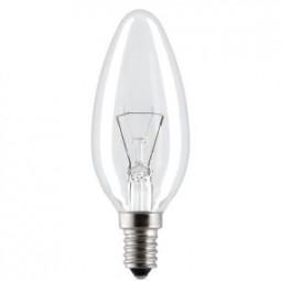 Glühbirne Kerze klar 40W E14 Orma Ligths