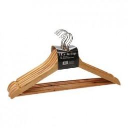Kleiderbügel Holz 7er Pack
