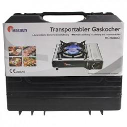 Gaskocher, transportabel inkl. Koffer
