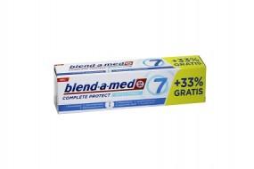 Zahnpasta blend-a-med Complete Protect 7 extra frisch 75 ml+33% gratis