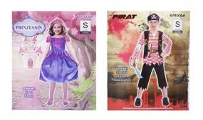 Karneval Ki. Kostuem: Prinzessin oder Pirat