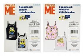 ! R Minions - Unterhemden 2er Set für Kinder