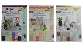 R Designpapierblock Hotfoil, Frühjahr etc. folia