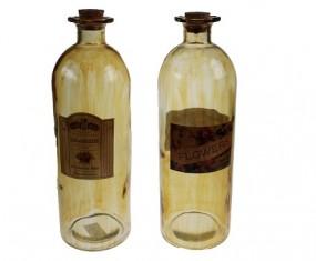 ! Deko Flasche Apothekerglas Hx26,5cm