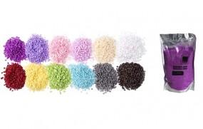 Dekosteine;- Sand 400gr. Beutel in 12 Farben