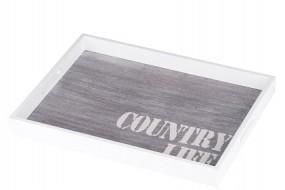 Tablett aus Holz 40x30cm