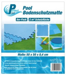 SO Poolmatte 8er Pack 50x50 cm