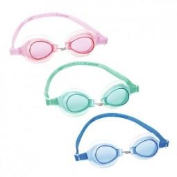 SO Schwimmbrille Child 3-6, BESTWAY® rosa,mint, blau