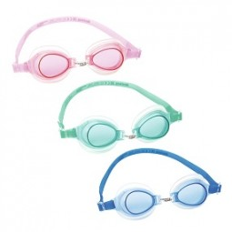 SO Schwimmbrille Child 3-6, BESTWAY® rosa,mint, blau
