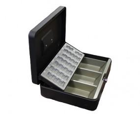 Geldkassette mit Münzeinsatz & Geldscheinmulde 30x24x9cm