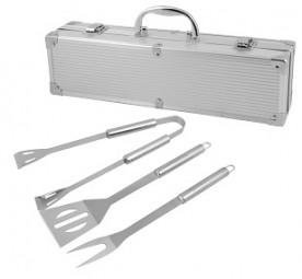 Grillbesteck 3tlg. Set im Koffer
