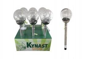 Solar Glaskugellampe LED Ø12x56cm Kynast Garden