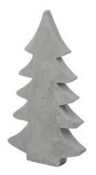W Deko Tannenbaum aus Beton Hx30cm