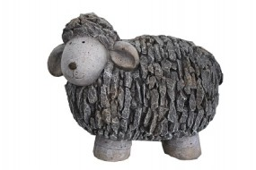 G Schaf groß aus Polyresin 58x35,5x47cm