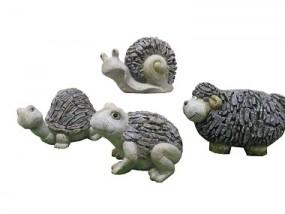 G Tierfiguren aus Polyresin 4 Modelle