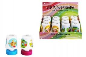 Kinderlampe LED mit Farbwechsel im Display