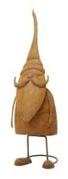 W Weihnachtsmann Rost wackelnd H x 46 cm