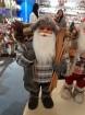 W Weihnachtsmann 80cm, grau