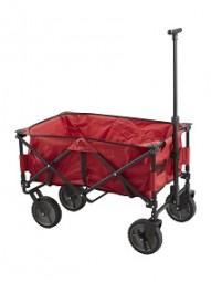 Bollerwagen faltbar, rot