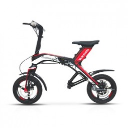 Scooter Elektro Robstep 300 Watt, rot