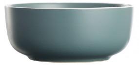 Steingut Müslischale 14,5 cm, dunkelgrün