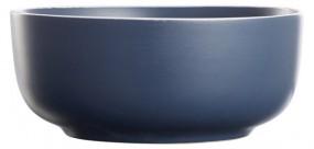 Steingut Müslischale 14,5 cm, dunkelblau