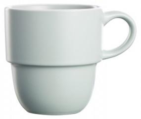 Steingut Kaffeebecher 36 cl, hellgrün