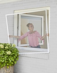Insektenschutz-Rahmen für Fenster 130x150 cm