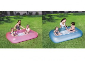 SO Pool für Baby 165x104x25cm in pink / blau BESTWAY®