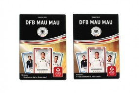 F DFB Mau Mau inkl. Facepaint Karte