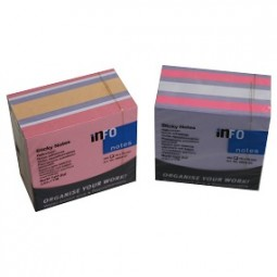 R Haftnotizen Brill-Pastel-Mix, 450 Blatt 75x75 mm