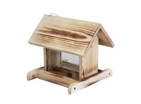 Vogelhaus Futterstelle klein, geflammt