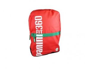 Panini Rucksack 39x27x12 cm rot/weiß/grün