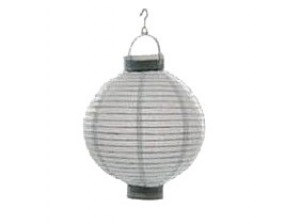 Lampion LED Ø20cm weiß