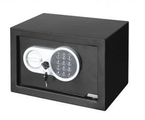 Safe Tresor 31x20x20cm elek. mit digitalem Zahlenschloss