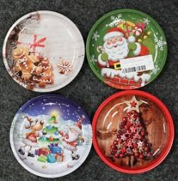 W Weihnachtsteller 25 cm