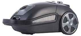 Staubsauger 850 Watt, grau/schwarz-matt