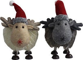W Schaf wackelnd 35 cm Jens und Sabine