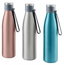 Thermoflasche Edelstahl 700 ml , versch. Farben