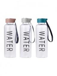 Trinkflasche Kunststoff 500 ml, versch. Farben und Motive