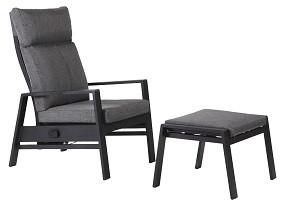 Sessel mit Pumpfunktion und Fußteil