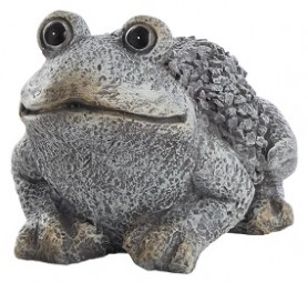 G Deko Frosch 29x22x18,5 cm