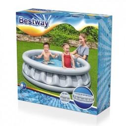 SO 2022 Pool Ø 152x H 43cm in silber BESTWAY®