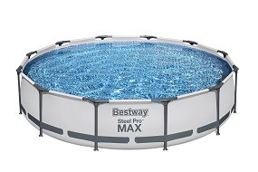 SO 2022 Steel Pro MAX Pool mit Pumpe 366x76 cm BESTWAY®