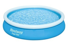 SO 2022 Fast Set Pool 366x76 cm mit Pumpe BESTWAY®