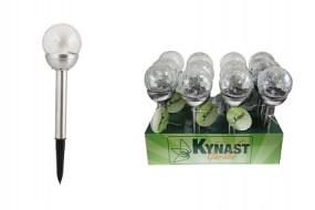 Solar Glaskugellampe LED Ø 8x34,5cm Kynast Garden