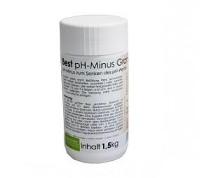 SO Best pH Minus Granulat 1,5 KG