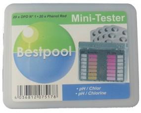 SO Best Pooltester Chlor inkl. 20 Testtabletten